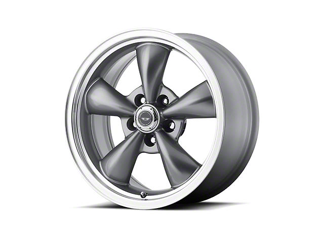 American Racing TORQ THRUST M Anthracite Gray Wheel; 17x9 (99-04 All)