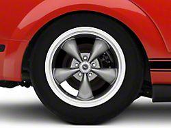 American Racing TORQ THRUST M Anthracite Gray Wheel; 18x9 (10-14 Standard GT, V6)
