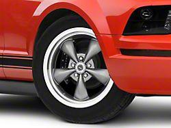 American Racing TORQ THRUST M Anthracite Gray Wheel; 18x9 (05-09 GT, V6)