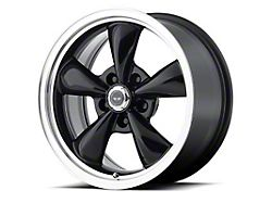 American Racing TORQ THRUST M Gloss Black Machined Wheel; 18x9 (10-14 Standard GT, V6)