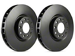 SP Performance Premium Rotors with Black Zinc Plating; Front Pair (11-14 GT Brembo; 12-13 BOSS 302; 07-12 GT500)