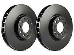 SP Performance Premium Rotors with Black Zinc Plating; Rear Pair (84-86 SVO)