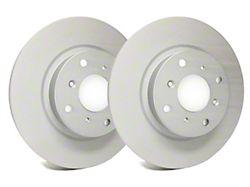 SP Performance Premium Rotors with Gray ZRC Coating; Front Pair (94-04 Cobra, Bullitt, Mach 1)