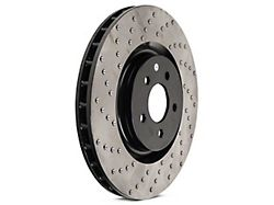 StopTech Sportstop Cryo Sport Drilled Rotor; Front Driver Side (94-04 Cobra, Bullitt, Mach 1)