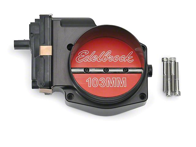 Edelbrock 103mm Modular Inlet Supercharger Throttle Body (15-17 GT)