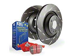 EBC Brakes Stage 4 Redstuff Brake Rotor and Pad Kit; Rear (15-21 Standard EcoBoost, V6)