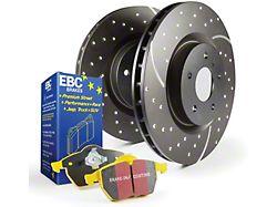 EBC Brakes Stage 5 Yellowstuff Brake Rotor and Pad Kit; Front (05-10 V6)