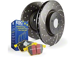 EBC Brakes Stage 5 Yellowstuff Brake Rotor and Pad Kit; Front (05-10 GT)