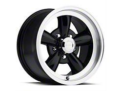 Vision Wheel 141H Legend 5 Gloss Black Machined Wheel; 17x8 (94-98 All)