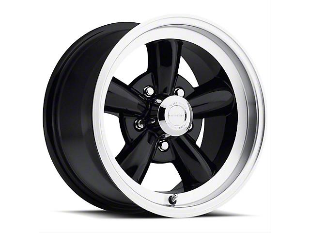 Vision Wheel 141H Legend 5 Gloss Black Machined Wheel; 17x9 (99-04 All)