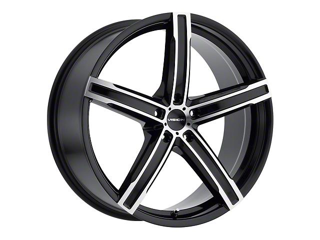 Vision Wheel 469 Boost Gloss Black Machined Wheel; 20x8.5 (10-14 All)