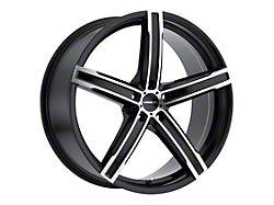 Vision Wheel 469 Boost Gloss Black Machined Wheel; 20x8.5 (15-21 GT, EcoBoost, V6)