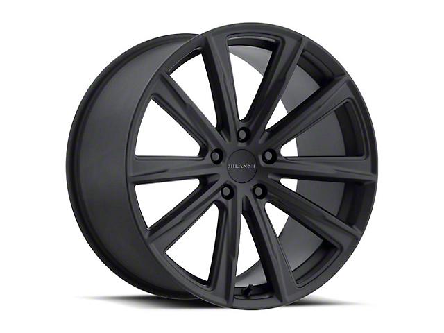 Vision Wheel 471 Splinter Satin Black Wheel; Rear Only; 20x10.5 (05-09 All)