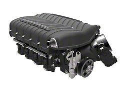 Whipple W185RF 3.0L Intercooled Supercharger Kit; Black; Stage 1 (11-14 GT)