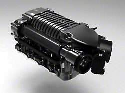 Whipple W185RF 3.0L Intercooled Supercharger Kit; Black; Stage 1 (15-17 GT)