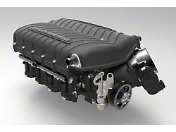 Whipple W185RF 3.0L Intercooled Supercharger Kit; Black; Stage 2 (11-14 GT)