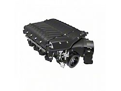 Whipple W185RF 3.0L Intercooled Supercharger Kit; Black; Stage 2 (15-17 GT)