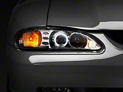 Raxiom LED Halo Projector Headlights - Chrome (94-98 All)