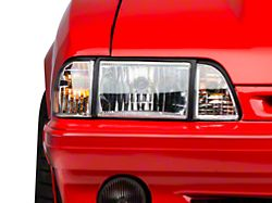 Axial Ultra Headlights; Clear (87-93 All)