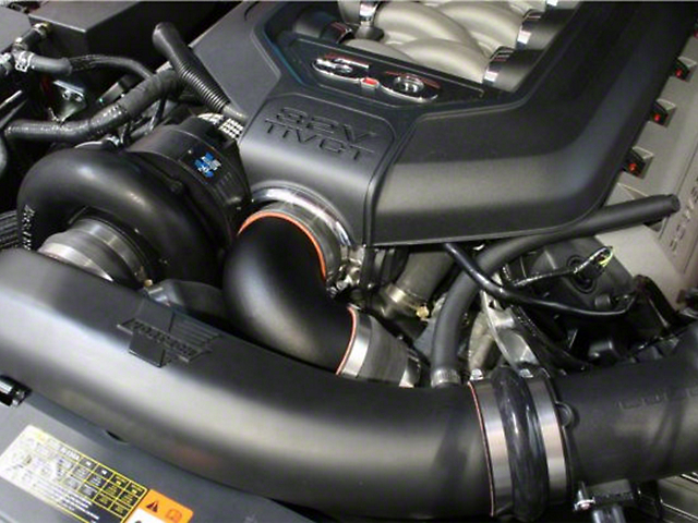 Vortech Supercharger System - Black - Manual (11-14 GT)