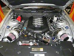 Kraftwerks Mustang Intercooled Supercharger Tuner Kit 150-04