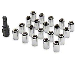 Chrome Locking Lug Nuts; Set of 20 (79-14 All)
