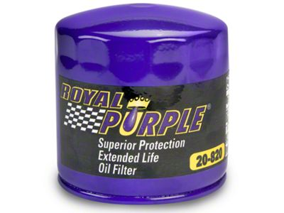 Add Royal Purple Extended Life Oil Filter (96-10 GT, 05-10 V6, 07-14 GT500)