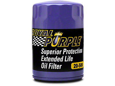 Royal Purple Extended Life Oil Filter (11-18 GT, V6, BOSS 302)