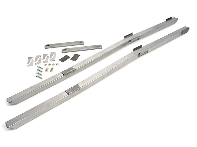 Maximum Motorsports Full Length Subframe Connectors; Bare (79-04 All)