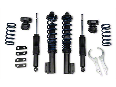 SR Performance V1 Height Adjustable Coilover Kit (79-04 All, Excluding 99-04 Cobra)