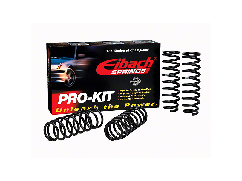 Eibach Pro-Kit Lowering Springs (07-10 GT500; 11-14 GT500 Coupe)