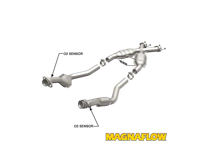 Magnaflow Direct-Fit Standard Grade Catted Tru-X X-Pipe (94-95 5.0L)