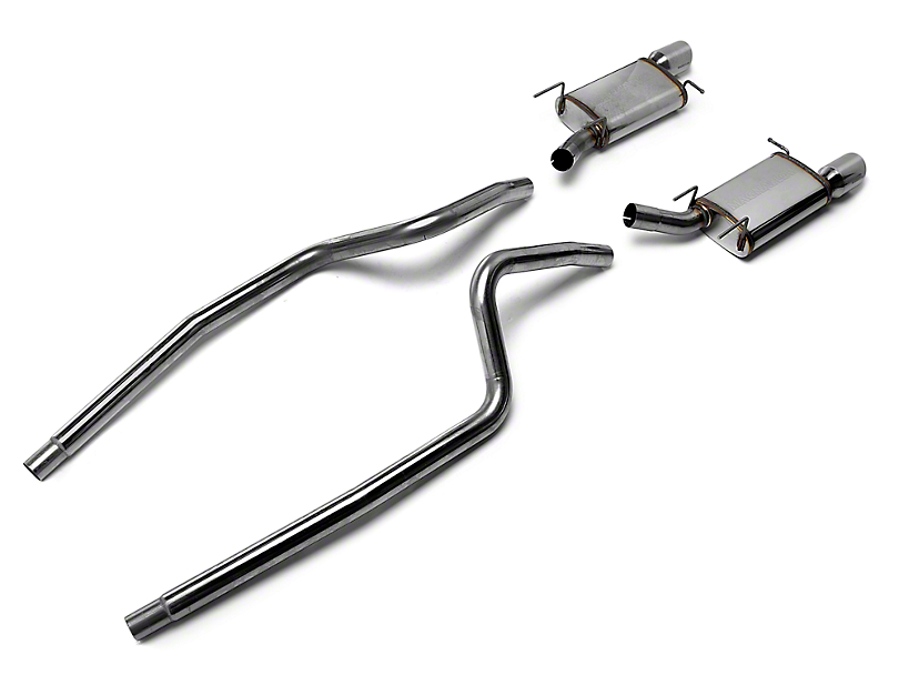 Magnaflow Street Cat-Back Exhaust - 4 in. Tips (13-14 V6)