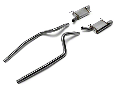 Magnaflow Street Cat-Back Exhaust w/ 4 in. Tips (13-14 V6)