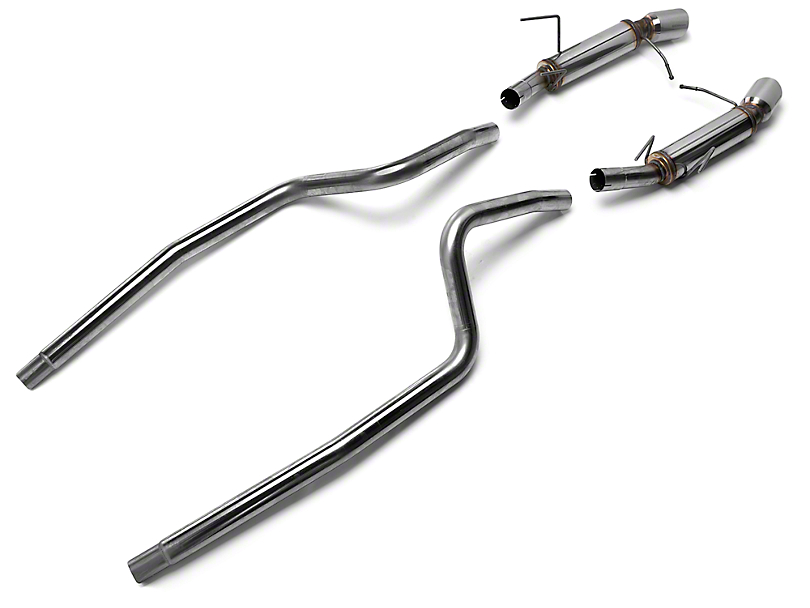 Magnaflow Competition Cat-Back Exhaust w/ 4 in. Tips (13-14 V6)
