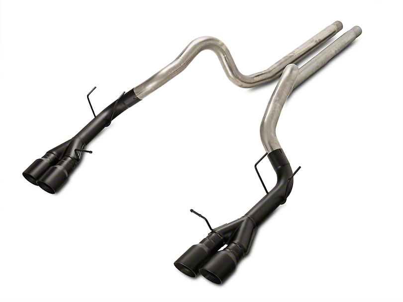 Magnaflow Competition Cat-Back Exhaust w/ Black Quad Tips (13-14 GT500)