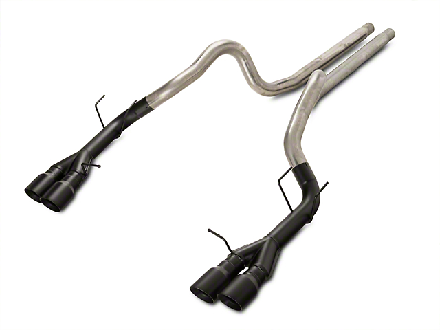 Magnaflow Competition Series Cat-Back Exhaust with Black Quad Tips (13-14 GT500)