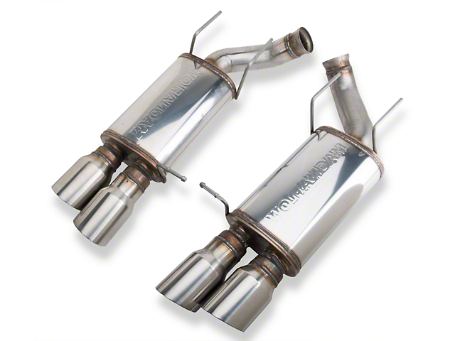 Magnaflow Street Series Axle-Back Exhaust with Quad Tips (13-14 GT500)
