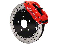 Wilwood Superlite 6R Front Big Brake Kit w/ 12.90 in. Drilled & Slotted Rotors - Red Calipers (94-04 All)