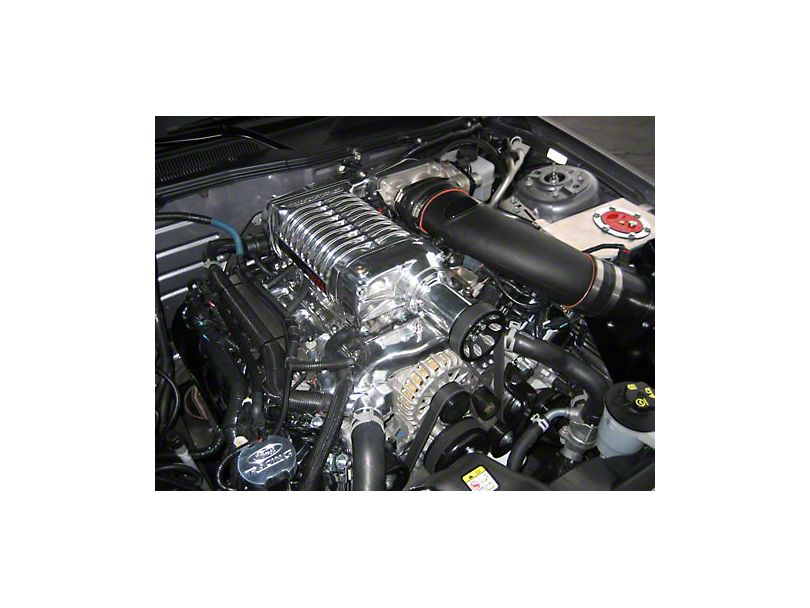 Whipple W140AX 2.3L 624 HP Supercharger Kit; Polished (11-12 GT w/ Manual Transmission)