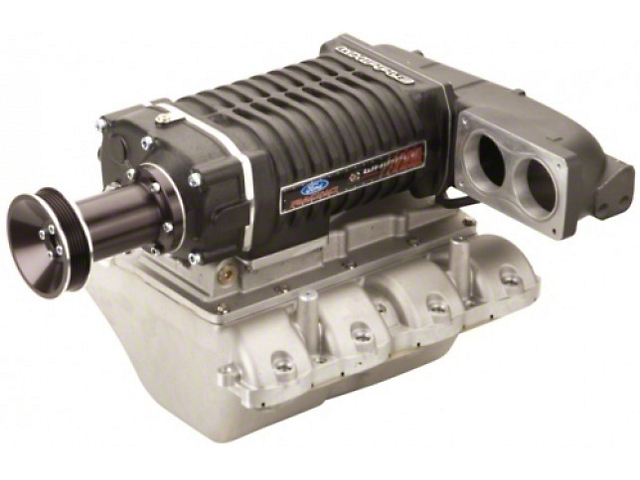 Whipple W140AX 2.3L Intercooled Supercharger Kit; Black (05-10 GT w/ Automatic Transmission)