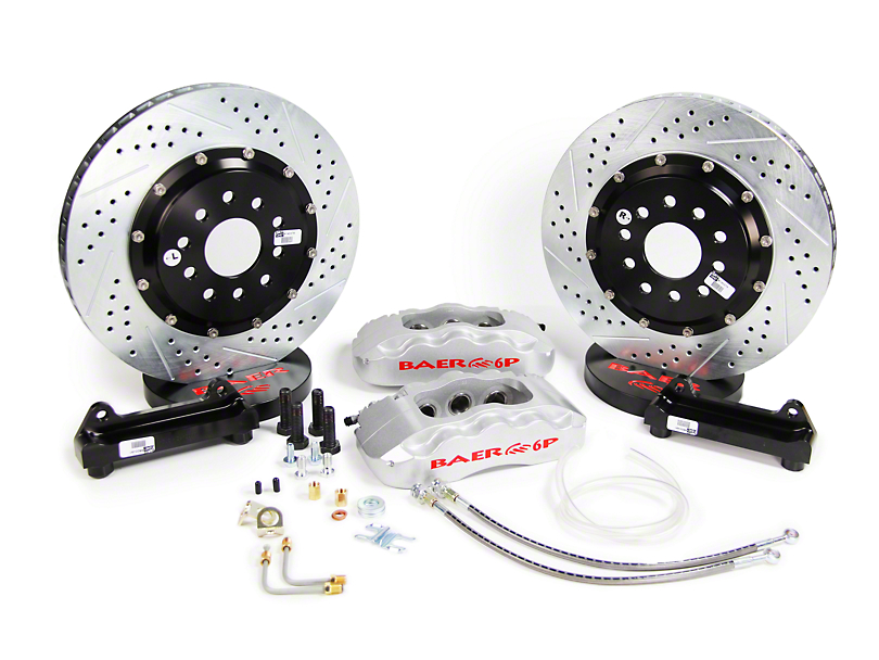 Baer Pro Plus Front Big Brake Kit - Silver Calipers (05-14 All)