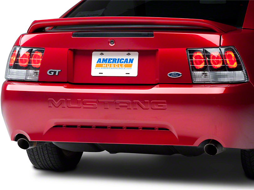 Axial Black Euro Tail Lights (99-04 All; Excluding Cobra)