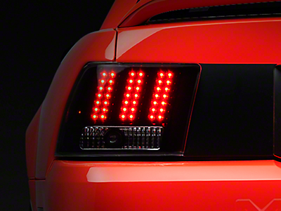 Axial Black 3-Light LED Tail Lights (99-04 All, Excluding Cobra)