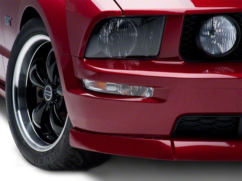mustang turn signal lights w amber corners 05 09 installation rh americanmuscle com 02 Mustang 09 Mustang