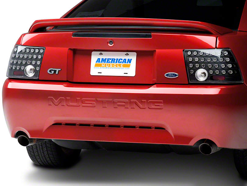 Axial Black Solid LED Tail Lights (99-04 All, Excluding Cobra)