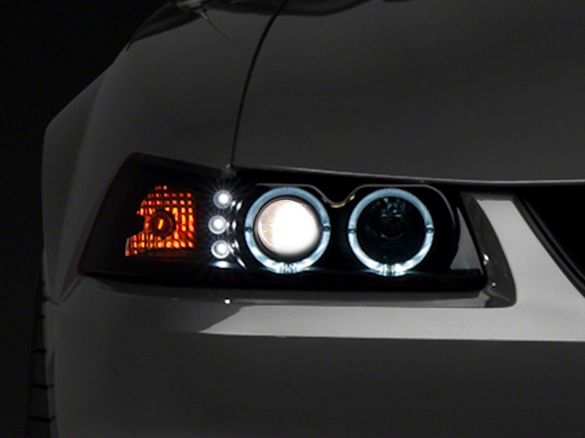 2002 Ford Mustang Headlights