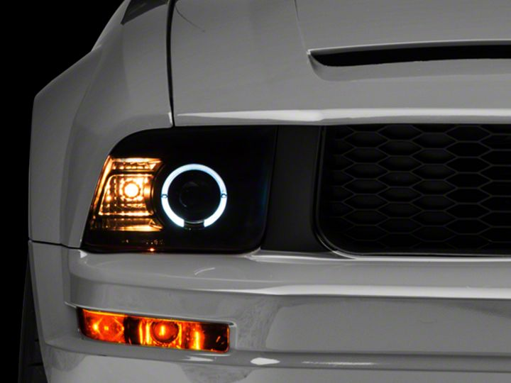 How To Install Projector Headlights For 2005 2009 Mustang Americanmuscle