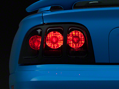 Axial Black Euro Tail Lights (96-98 All)