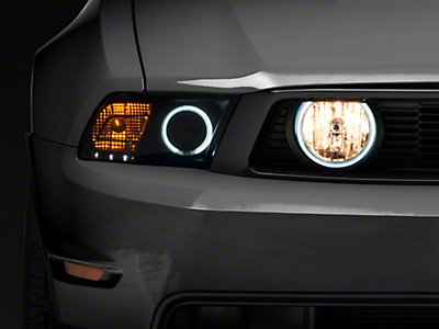 Raxiom Smoked Halo Fog Lights (05-12 GT)